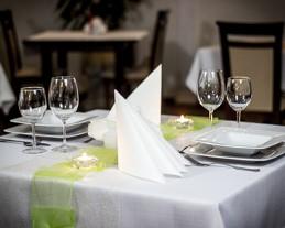 restauracja skawina stolik lunch obiad wesele catering pod irysami